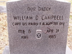 "William Dean ""Bill"" Campbell"