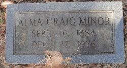 Alma Cora <I>Craig</I> Minor