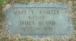 Mary F. <I>Ramsey</I> Beard