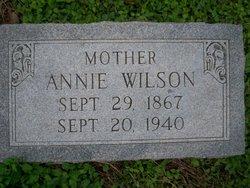 """Anna Elisabeth """"Annie"""" <I>Klett</I> Wilson"""