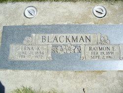 Raymon Earl Blackman