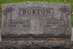 Florence America <I>Nash</I> Burton