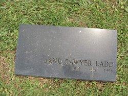 Jane <I>Sawyer</I> Ladd