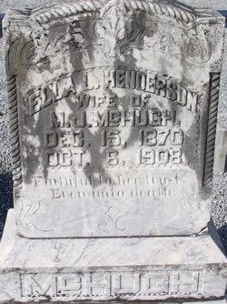 Ella L <I>Henderson</I> McHugh