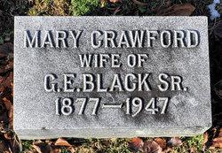 Mary <I>Crawford</I> Black