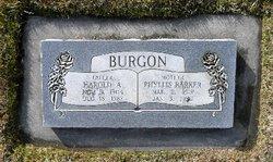 Harold Albert Burgon