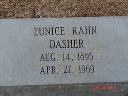Eunice <I>Rahn</I> Dasher