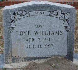 Loye Jay Williams