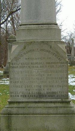 Eliza Phobie Lily Higinbotham