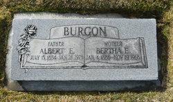 Bertha Elizabeth <I>Hansen</I> Burgon
