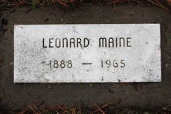 Leonard Maine