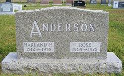Rose <I>Wahl</I> Anderson