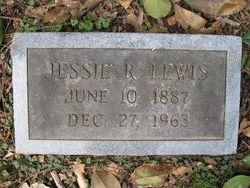 Jessie R Lewis
