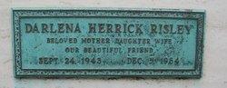 Darlena <I>Herrick</I> Risley