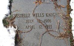 Cristelle <I>Wells</I> Knighton