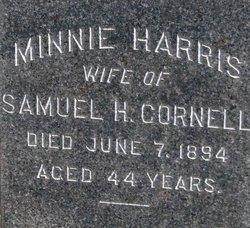 Minnie <I>Harris</I> Cornell