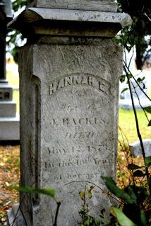 Hannah E. <I>Newkirk</I> Backus