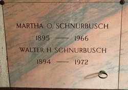 Martha O Schnurbusch