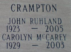Carolyn <I>McCarey</I> Crampton