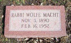 Rabbi Wolfe Macht