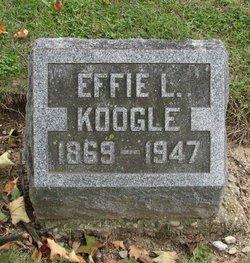 Effie L Koogle