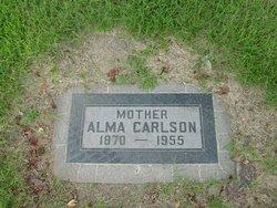 Alma <I>Anderson</I> Carlson