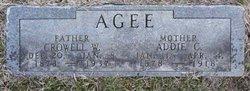 Addie C. <I>Sheehan</I> Agee