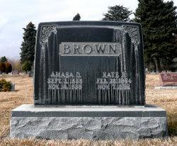 Kate Hennrietta <I>Powell</I> Brown