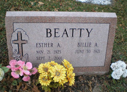 Esther Arlene <I>Peace</I> Beatty