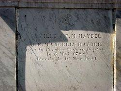Jean Francois Marcelin Haydel