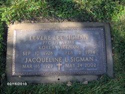 Levere Lee Sigman