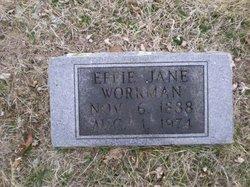 Effie Jane Workman
