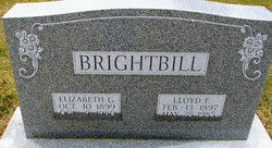 Elizabeth G <I>Hower</I> Brightbill