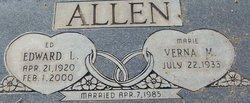 "Edward L. ""Ed"" Allen"