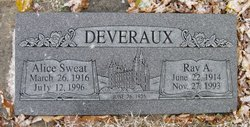 Alice <I>Sweat</I> Deveraux