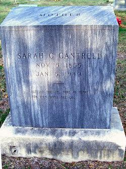 Sarah Catherine <I>West</I> Cantrell