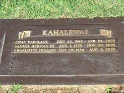 Iwalani Kahalewai