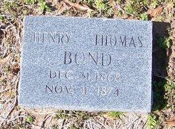 Henry Thomas Bond