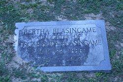 Bertha Winnaper Blasingame