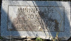 Minnie Lee Noack