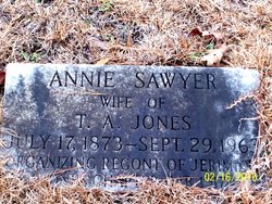 Annie Eudora <I>Sawyer</I> Jones