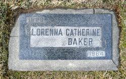 Lorena Catherine <I>Forbush</I> Baker