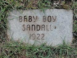 Baby Boy Sandall