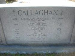 Mary <I>Sullivan</I> Callaghan