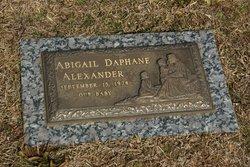 Abigail Daphane Alexander