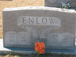 Reba Cleo <I>Amick</I> Enlow