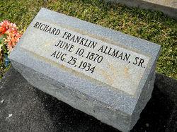 Richard Franklin Allman, Sr