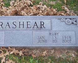 Ruby <I>Moody</I> Brashear