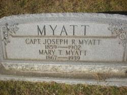 Capt Joseph Rutledge Myatt