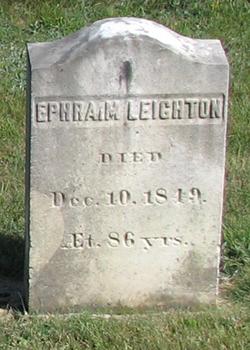 Ephraim Leighton